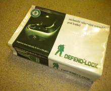 Defendlock- mech. zabezpečení Clio 1,4 8V,1,9D 2.gen.Stav:nové