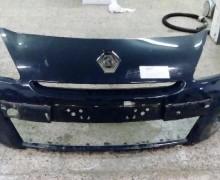 Nárazník Renault Clio3 Facelift, pouze prasklina na spod. uchycení
